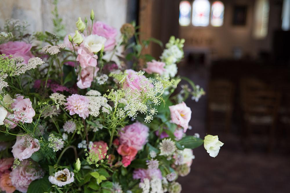 décoration mariage église