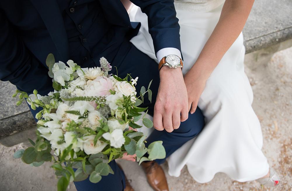 bouquet de mariés