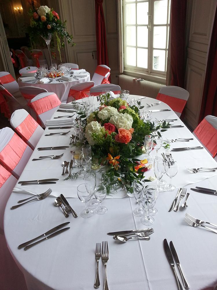décoration de centre de table